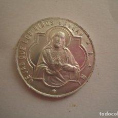 Monedas locales: MONEDA EN ALUMINIO DE CATECISMO PARROQUIAL CON VALOR DE 5 CTMOS. DIOCESIS DE PAMPLONA. Lote 98529240