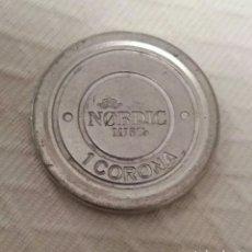 Monedas locales: FICHA NORDIC MIST, 1 CORONA. Lote 86992054