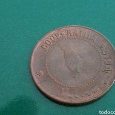 Monedas locales: MONEDA DE 10 CÉNTIMOS DE LA MUTUA GENERAL DE MANLLEU (BARCELONA). GUERRA CIVIL. Lote 89364687