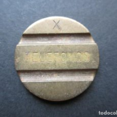 Monedas locales: FICHA DE TELÉFONO EN COBRE. Lote 90372228
