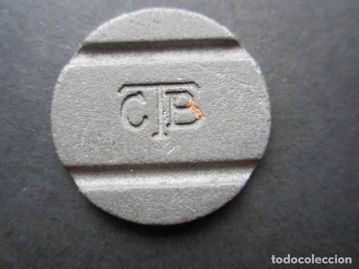 FICHA DE TELÉFONO EN METAL (Numismática - España Modernas y Contemporáneas - Locales y Fichas Dinerarias y Comerciales)