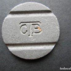 Monedas locales: FICHA DE TELÉFONO EN METAL. Lote 90372336
