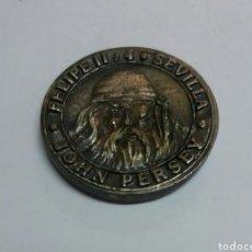 Monedas locales: FICHA PUBLICITARIA DEL BAR CLUB EL DOBLON, SEVILLA. Lote 91806455