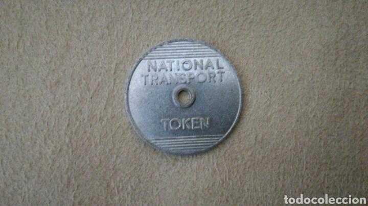 TOKEN NATIONAL TRANSPORT 3 (Numismática - España Modernas y Contemporáneas - Locales y Fichas Dinerarias y Comerciales)