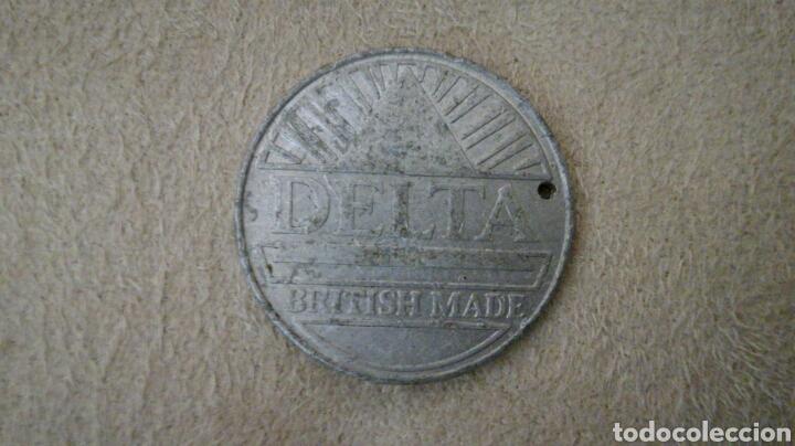Monedas locales: Ficha británica Delta - Foto 2 - 92266457