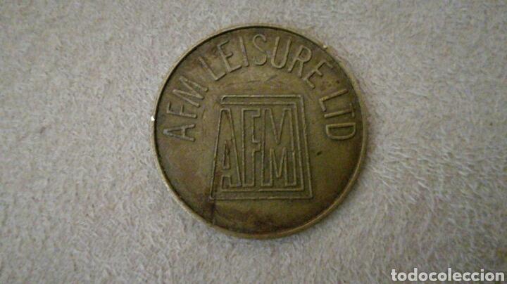 FICHA 10 PENIQUES AFM LEISURE (Numismática - España Modernas y Contemporáneas - Locales y Fichas Dinerarias y Comerciales)