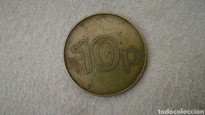 Monedas locales: Ficha 10 peniques AFM Leisure - Foto 2 - 92267168