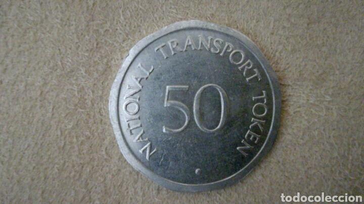 Monedas locales: Ficha token de 50 peniques Castillo de Edimburgo - Foto 2 - 92267242
