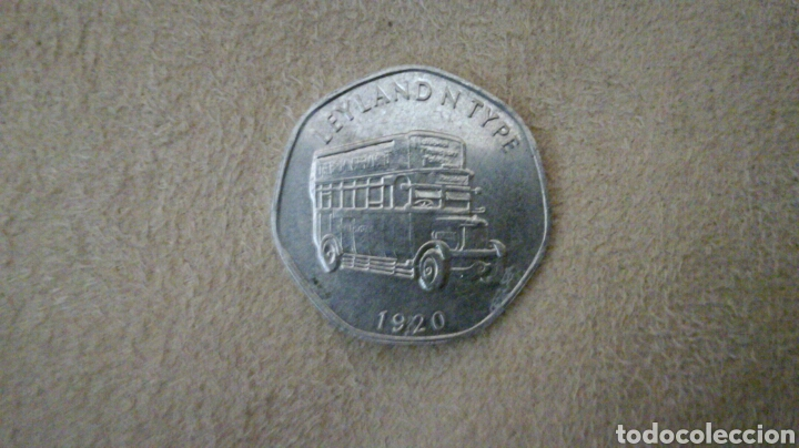 Monedas locales: Ficha de 20 National Transport Token 1920 - Foto 1 - 92267517