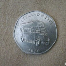 Monedas locales: FICHA DE 20 NATIONAL TRANSPORT TOKEN 1920. Lote 92267578