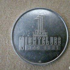Monedas locales: FICHA PARA NIGHTCLUBS Y BARES. Lote 92267865