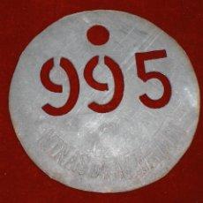 Monedas locales: ANTIGUA FICHA DE LA MINA DE ALMADEN. Lote 92759500