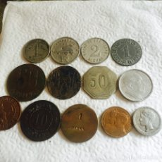Monedas locales: LOTE DE 57 FICHAS, ALGUNAS RARAS. Lote 94124070
