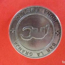 Monedas locales: 1 TRUEKE - IRUÑA NAVARRA -BAR LA GRANJA - ESTAFETA,71 PAMPLONA. Lote 126141088
