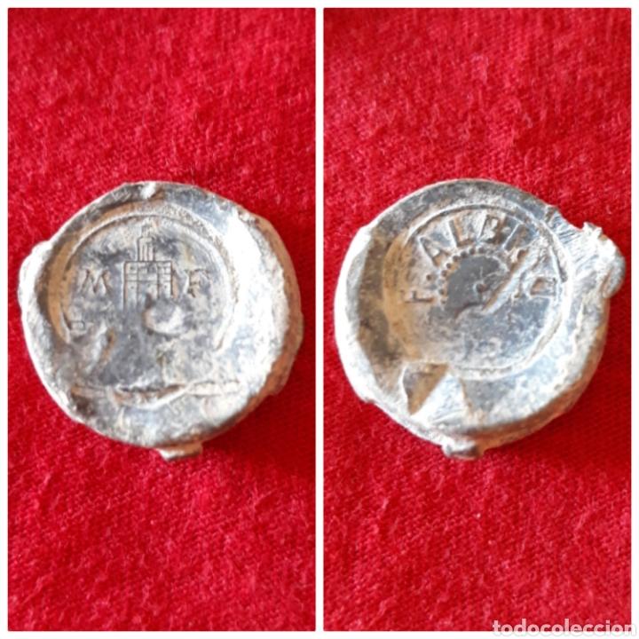 PRECINTO O MARCHAMO F.ALBISO M.F (Numismática - España Modernas y Contemporáneas - Locales y Fichas Dinerarias y Comerciales)