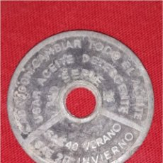Monedas locales: MONEDA COMERCIAL FICHA TOKEN RARA. Lote 98399798