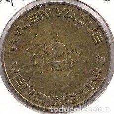 Monedas locales: GRAN BRETAÑA - FICHA MAQUINA EXPENDEDORA - TOKEN VALUE N2P - VENDING ONLY. Lote 98985331