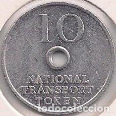 Monedas locales: GRAN BRETAÑA - TOKEN/ FICHA DE TRANSPORTE - ALUMINIO - 23MM - 2G. Lote 98986395