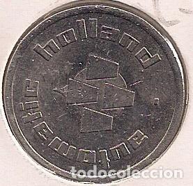 JETON / FICHA PARA MAQUINA HOLLAND (Numismática - España Modernas y Contemporáneas - Locales y Fichas Dinerarias y Comerciales)