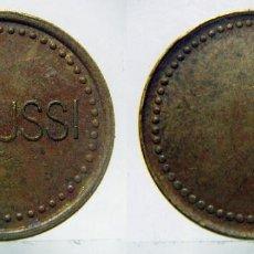 Monedas locales: FICHA COMERCIAL ZANUSSI ITALIA. Lote 99262915