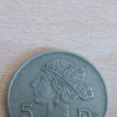 Monedas locales: FICHA CASINO REAL SOCIEDAD COLOMBOFILA CATALUÑA. Lote 99736016
