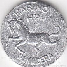 Monedas locales: FICHA: 1 REGALO HARINO PANADERA - HP BILBAO. Lote 101771079