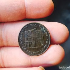 Monedas locales: FICHA INGLESA ANTIGUA A IDENTIFICAR. Lote 102699234