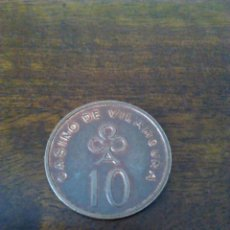 Monedas locales: FICHA DE CASINO. VALOR 10.. Lote 102742819