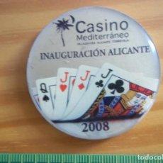 Monedas locales: FICHA CASINO ALICANTE 2008. Lote 104989663