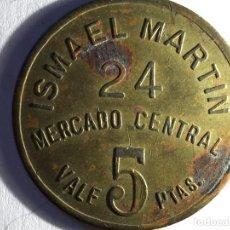Moedas locais: MERCADO CENTRAL ISMAEL MARTIN. Lote 105888471