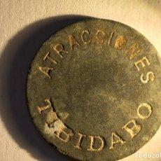 Monedas locales: TIBIDABO. Lote 105888639