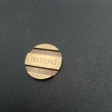 Monedas locales: FICHA ANTIGUA TELEFÓNICA ESPAÑOLA RARA. Lote 107593831