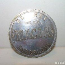 Monedas locales: ANTIGUA Y RARA FICHA.....EL REY DE LA MAGIA...BARCELONA....AÑOS 20...EPOCA MODERNISTA.. Lote 107646215