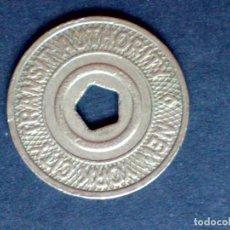 Monedas locales: FICHA/MONEDA METALICA-TRANSIT-AUTORITY DE NEW YORK-GOOD FOR ONE FARE (DESCRIPCIÓN). Lote 109147491