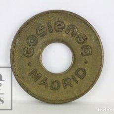Monedas locales: ANTIGUA FICHA / TOKEN - COSIENSA. CONTROL SYSTEMS, MADRID - DIÁMETRO 25 MM. Lote 109753387