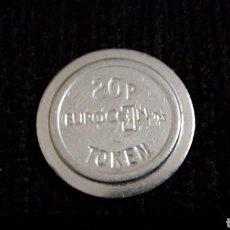 Monedas locales: FICHA DE 20 PENIQUES EUROCOIN TOKEN. Lote 110070486