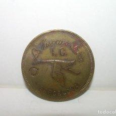 Monedas locales: ANTIGUA FICHA DINERARIA..LA HISPANO SUIZA....BARCELONA.. Lote 110781703