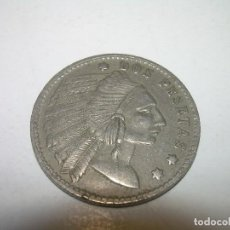 Monedas locales: ANTIGUA FICHA DINERARIA.. Lote 110781895