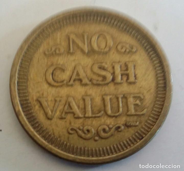 Monedas locales: FICHA DE JUEGO TOKEN. NO CASH VALUE. FAMILY AMUSEMENT CENTER - Foto 4 - 150522010