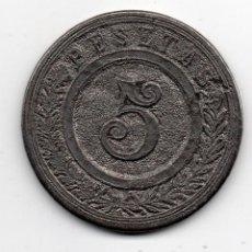 Monedas locales: FICHA 5 PTS. Lote 112014711
