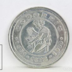 Monedas locales: FICHA DINERARIA - CODORNÍU 1551-1872-1999 - 1 EUROPA - ENERO 1999 - DIÁMETRO 29 MM. Lote 112886735