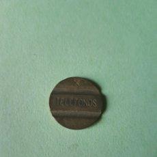 Monedas locales: FICHA TELEFONOS X. Lote 113381527