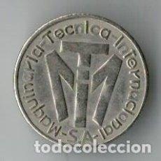 Monedas locales: FICHA MAQUINARIA TÉCNICA INTERNACIONAL. Lote 113428503