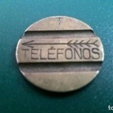 Monedas locales: FICHA TELEFONOS ESPAÑOLA. Lote 114263279
