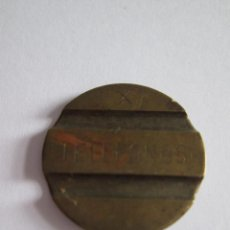 Monedas locales: FICHA DE TELEFONOS - MARCADA CON LA X. Lote 114671435