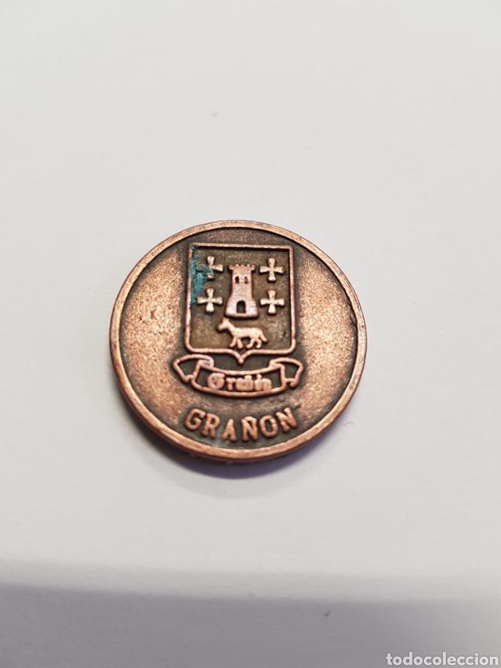 MONEDA GRAÑON - LA RIOJA - ERMITA DE CARRASQUEDO - CAR82 (Numismática - España Modernas y Contemporáneas - Locales y Fichas Dinerarias y Comerciales)