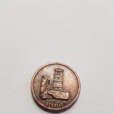 Monedas locales: MONEDA HERVIAS - LA RIOJA - PB08. Lote 115483259