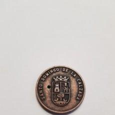 Monedas locales: MONEDA SANTO DOMINGO DE LA CALZADA - LA RIOJA - PB08. Lote 115485660
