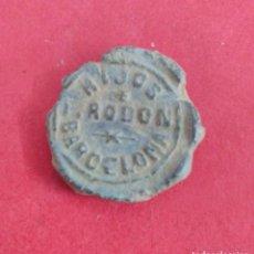 Monedas locales: MARCHAMO COMERCIAL HIJOS DE I. RODON. BARCELONA. FABRICA DE TEJIDOS. Lote 116262615