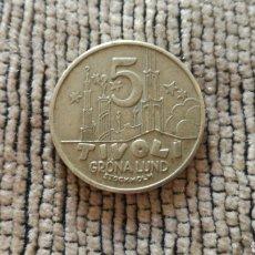 Monedas locales: FICHA DE 5 TIVOLI DE ESTOCOLMO. Lote 116541134